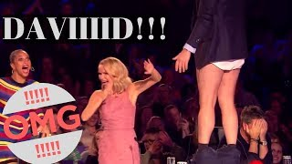 """Top 10 """"DAVID WALLIAMS's SHOCK and AMAZING MOMENTS"""" EVER!"""