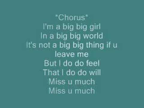 Big Big World(with lyrics)