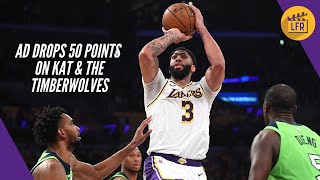 Anthony Davis Drops 50 Points on Karl Anthony Towns & the Timberwolves