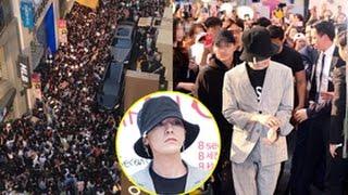 G-Dragon khiến cả khu phố thủ đô Hàn Quốc tắc nghẽn(Tin tức Sao Việt)