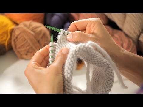 Knit Hat On Circular Needles