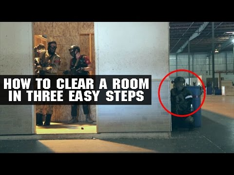 How To Clear A Room In Three Easy Steps | Black Friday Sale! 8/26 - 8/29 | AirsoftGI.com