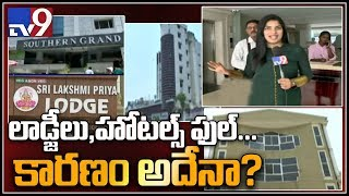 Star hotels and lodges housefull in AP over election resul..