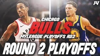 DEMAR DEROZAN DOMINATES! ROUND 2 PLAYOFFS | NBA 2K18 CHICAGO BULLS MYLEAGUE