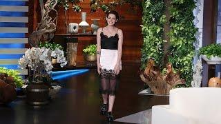 Kristen Stewart Opens Up to Ellen