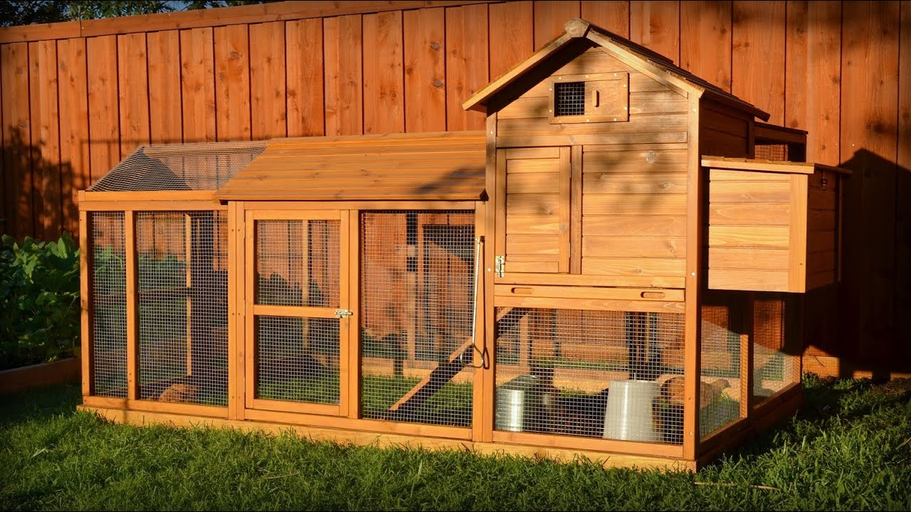 Building a Chicken Coop Kit w/ Additional Modifications ...