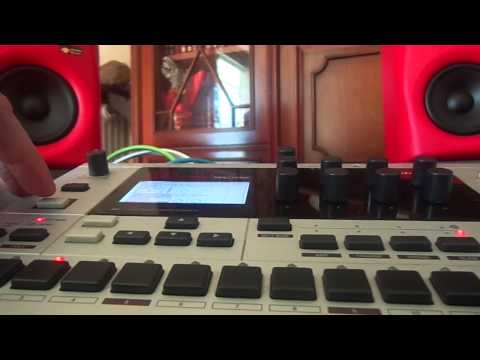 Elektron Monomachine Madness experiment with DJX6