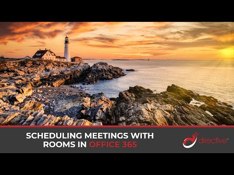 Scheduling Meetings with Rooms in Office 365