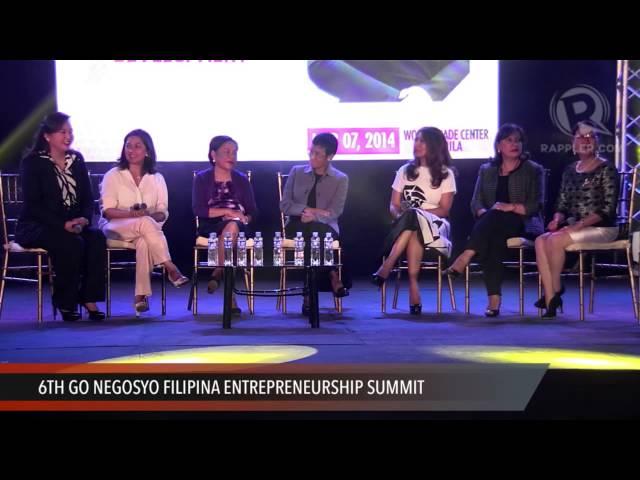 6th Go Negosyo Filipina Entrepreneurship Summit: Filipina Success ...