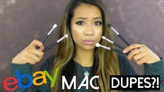 Ebay MAC Brush 'Dupes' Review ♡