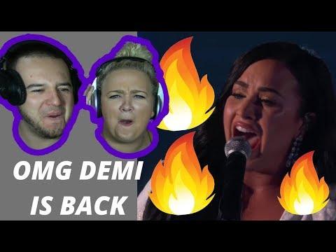 Demi Lovato – Anyone (LIVE) - GRAMMY AWARDS 2020 | COUPLE REACTION VIDEO