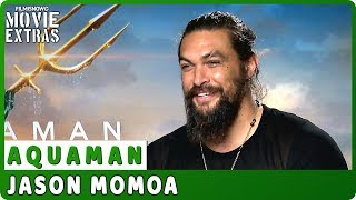 AQUAMAN | Jason Momoa talks about the movie - Official Interview