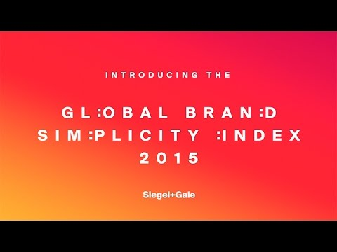 #SimplicityPays: Introducing the 2015 Global Brand Simplicity Index