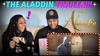 """Disney's """"Aladdin"""" Official Trailer REACTION!!!"""