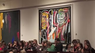 Jean-Michel Basquiat's 'Dustheads' | 2013 World Auction Record