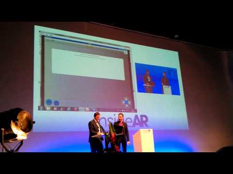 Presentation of metaio creator 2.0 at insideAR 2012