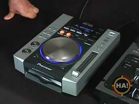 dj cd player pioneer cdj 200 youtube. Black Bedroom Furniture Sets. Home Design Ideas