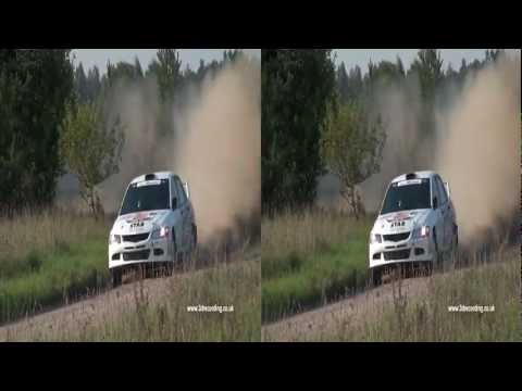 Rally 3D Full HD video 2011
