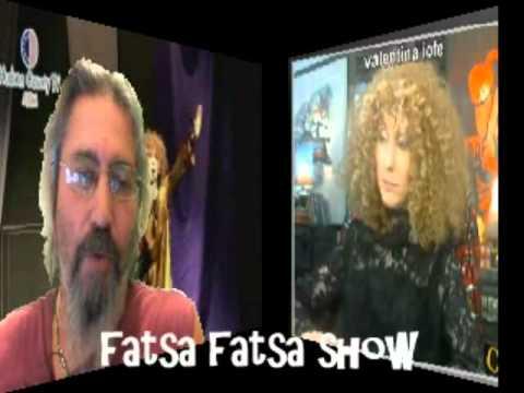 Valentina Iofe Interview on Fatsa Fatsa Tv Show hosted by Kim Nicolaou Part 2
