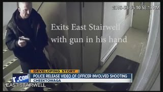 Cheektowaga Police video released in officer-involved fatal shooting