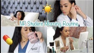 CLINICAL MORNING ROUTINE! FNP STUDENT | GET READY WITH ME!