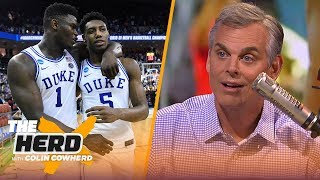 Pelicans should trade AD to the Knicks to reunite Zion and R.J. Barrett | NBA | THE HERD