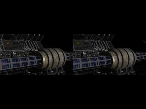 Space Station Cross Section in 3D (YT3D:Enable=True)