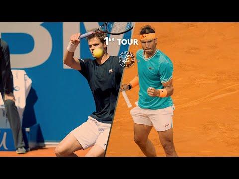 Roland-Garros 2019 : Le résumé de Rafael Nadal - Yannick Hanfmann