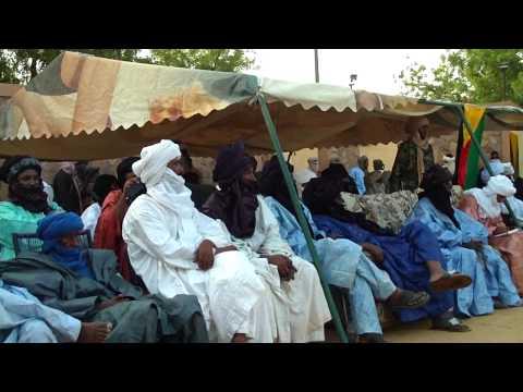 Rencontre des notables de l\'Azawad