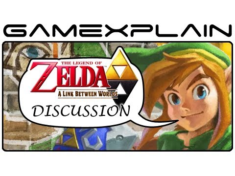 Zelda: A Link Between Worlds - Post-Review Discussion With Ash Paulsen - Smashpipe Games Video