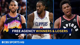 NBA Free Agency: Winners & Losers From Day 1 | CBS Sports HQ