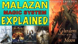 Malazan - Magic System Explained!
