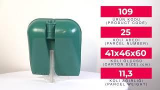 Plastic No 8 Faryap Shovel