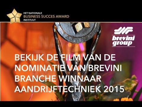 Brevini winnar NBS-Award branche Aandrijftechniek