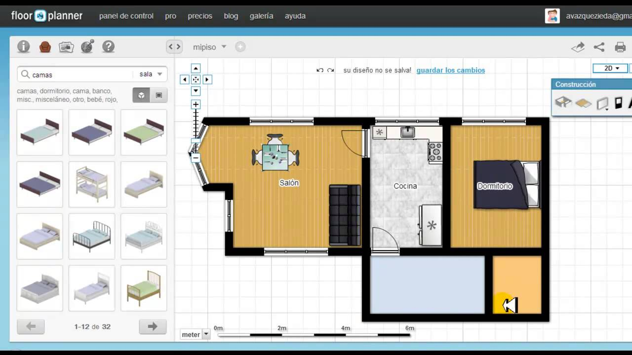 Tutorial de floorplanner en espa ol youtube for Tutorial ikea home planner
