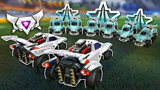 2 SSLs Vs 6 of Each Rank Until They Lose in Rocket League