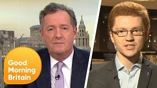 Piers Gets Into a Fiery Debate Over Scottish MP's Churchill Comments   Good Morning Britain