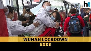 Wuhan lockdown lifted after 76 days, huge crowds seen at a..