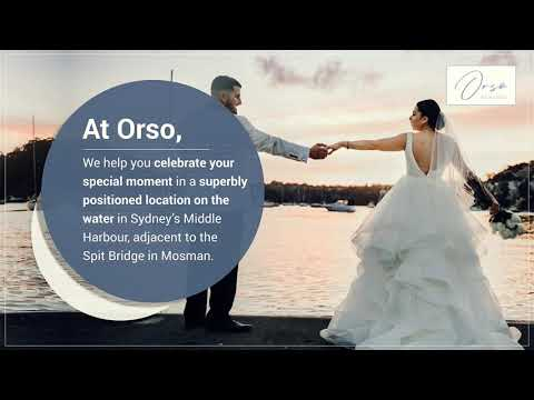 Top Waterfront Event Venues in Sydney - Orso