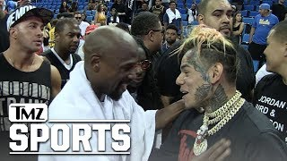 Floyd Mayweather Bros Down with Tekashi69, I'm a Big Fan!! | TMZ Sports