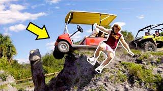 Jumping Golf Carts!
