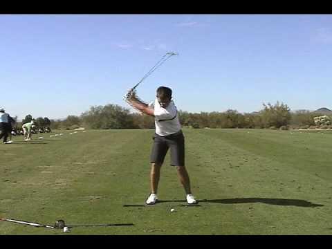 Aaron Baddeley Stack Tilt Swing Aaron Baddeley Iron Golf Swing