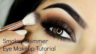 Smokey Shimmer Eye Makeup Tutorial