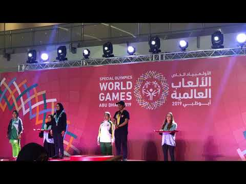 Special Olympics 2019 Abu Dhabi a mega event with use of smart wearable's from ThinkRace