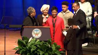 Atlanta Mayor Keisha Lance Bottoms is sworn in on Jan. 2, 2018