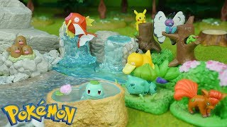 Pokemon Diorama Figure Re-Ment Miniatures | Candy Toy