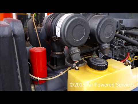 Compair C50 After Cooled Portable Diesel Air Compressor