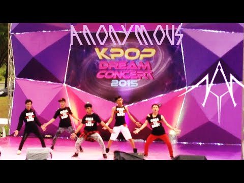 [ANONYMOUS] EXO - GROWL (Remix) + CALL ME BABY Dance Cover at FINAL KDC 2015 150503