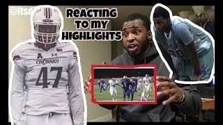 THIS IS HOW I WENT D1!?!? REACTING TO MY HIGHLIGHTS!