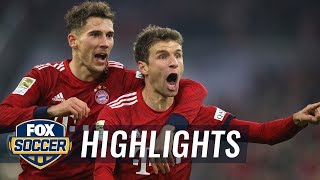 Bayern Munich vs. Fortuna Düsseldorf | 2018-19 Bundesliga Highlights